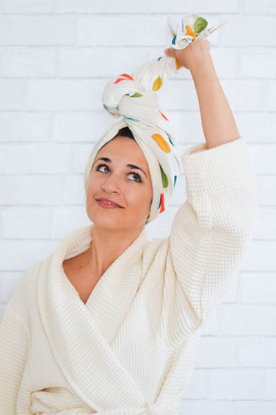 Why Cotton T-Shirt Towels for Hair