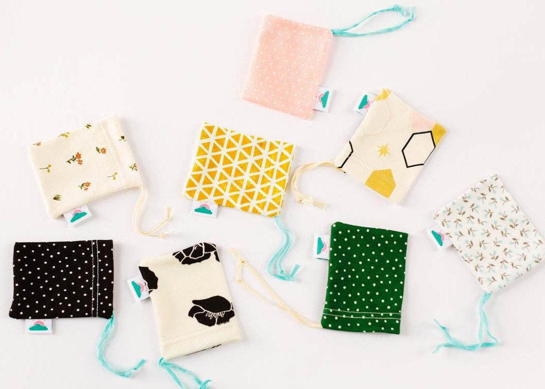 Small Drawstring Bags by Sunrise Bliss