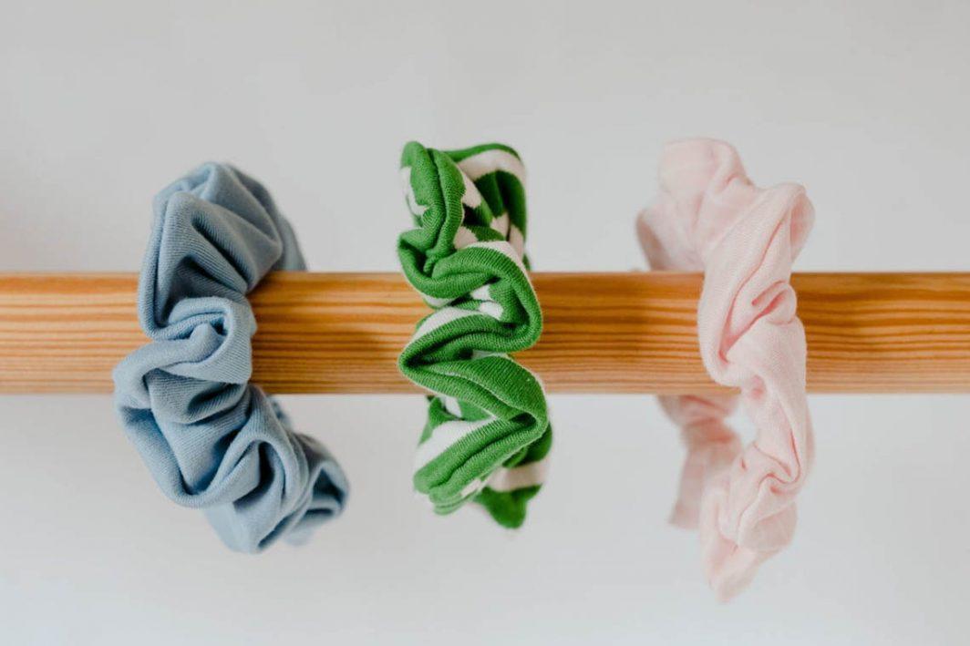 Sunrise Bliss Hair Scrunchies Organic Cotton
