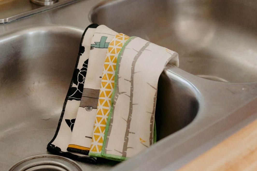 Sunrise Bliss Organic Cotton Kitchen Towel