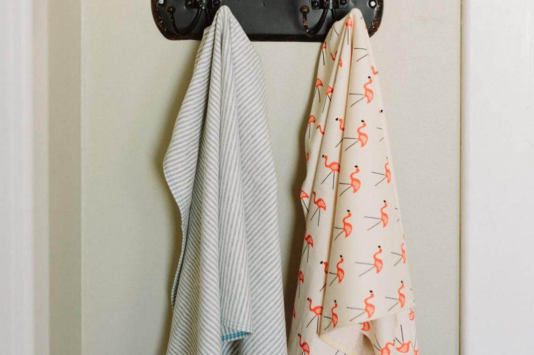 Sunrise Bliss medium tshirt hair towel